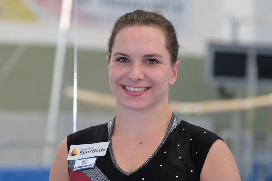Turnerin Sophie Scheder musste ihre Teilnahme beim Länderkampf in St. Etienne absagen.