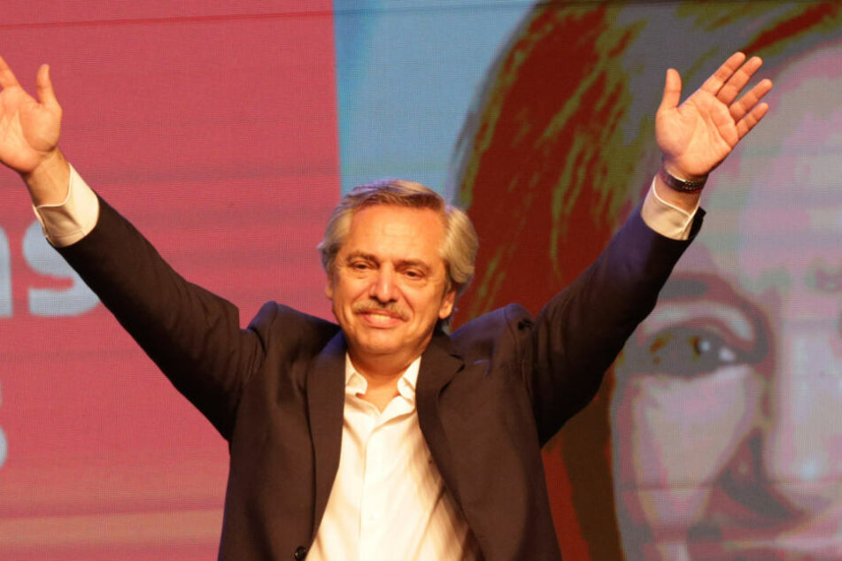 Der Oppositionskandidat Fernandez (60) hat die Präsidentenwahl in Argentinien gewonnen.