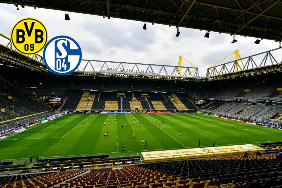 BVB gegen Schalke: Revierderby findet vor Minikulisse statt