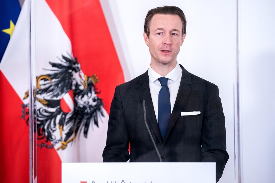 Schwer unter Beschuss: Gernot Blümel (39), Finanzminister von Österreich.