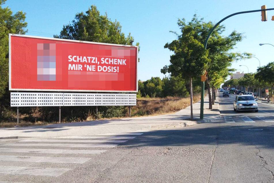 """""""Schenk mir 'ne Dosis"""": SPD wirbt auf Mallorca fürs Impfen"""