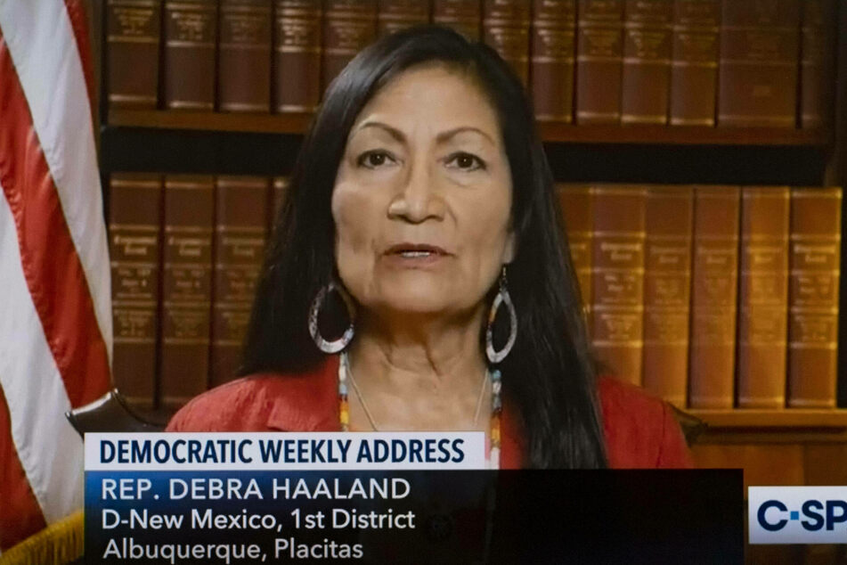 Representative Debra Haaland is set to become the first Native American to hold a national cabinet post.