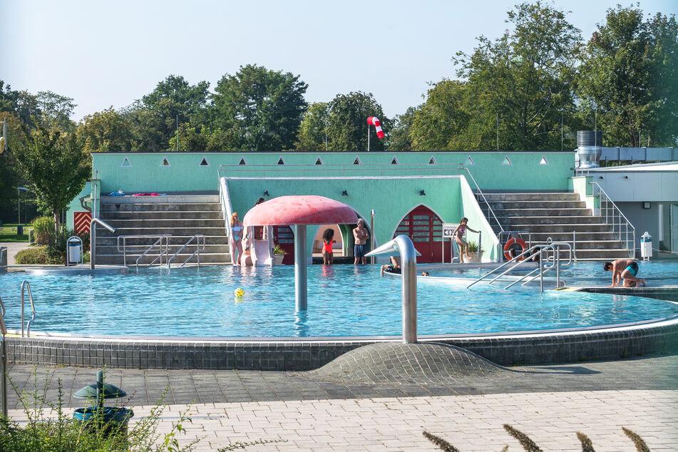 Ein letztes Mal öffnet das Georg-Arnhold-Bad die Becken im Freien.