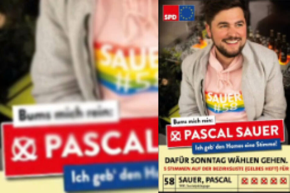 """""""Bums mich rein"""": Schwuler SPD-Politiker provoziert mit Wahl-Slogan"""