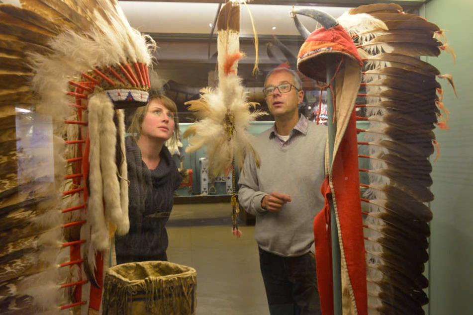 Museumsdirektor Christian Wacker (52) und Marketingleiterin Anne Barnitzke (34) freuen sich auf die neuen Ausstellungen.