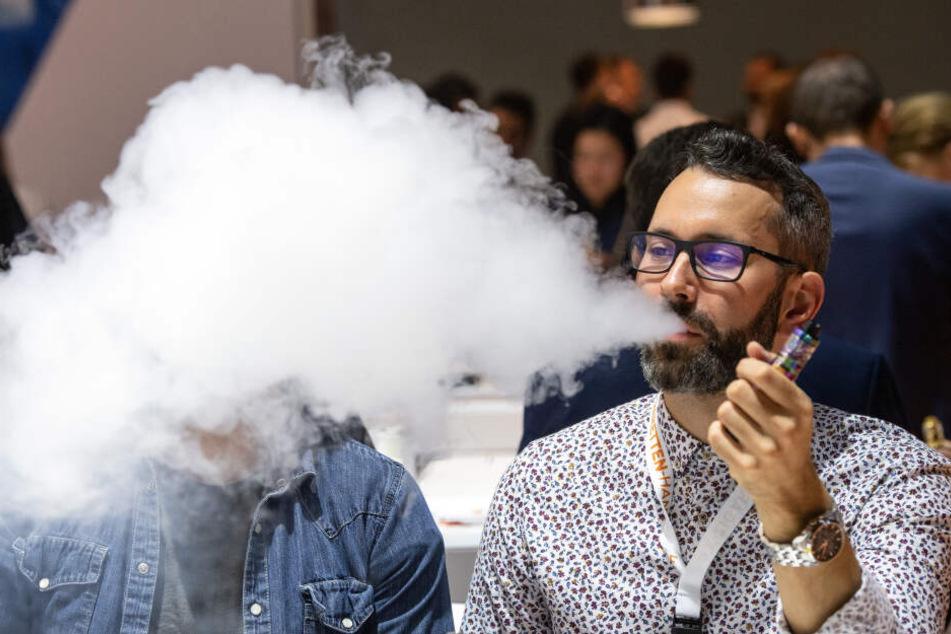 Der Trend zur E-Zigarette setzt sich fort.