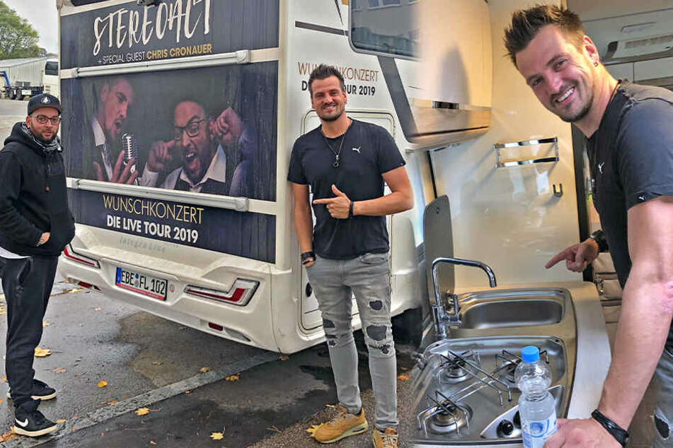 Chemnitz: Darum hausen Stereoact im Wohnmobil