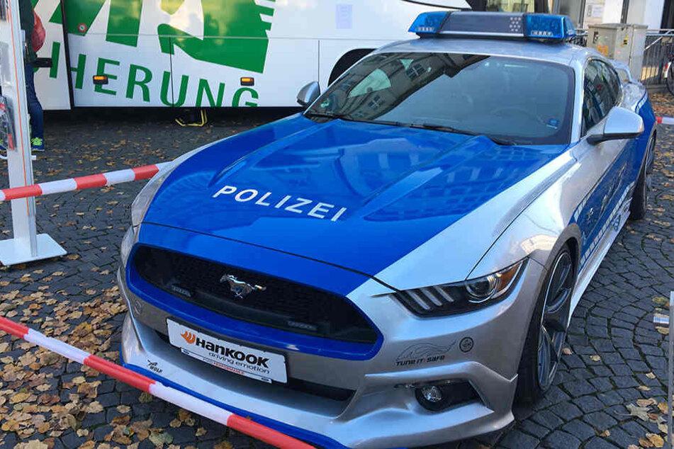 Ist dieser Ford Mustang V8 das nächste PS-Monster der Polizei?