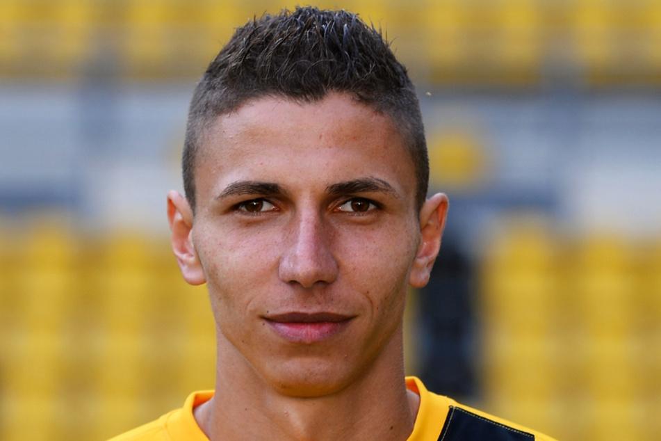 Der ehemalige Dynamo-Dresden-Stürmer und Hansa-Kicker Soufian Benyamina läuft in der neuen Saison für den VfB Lübeck auf.