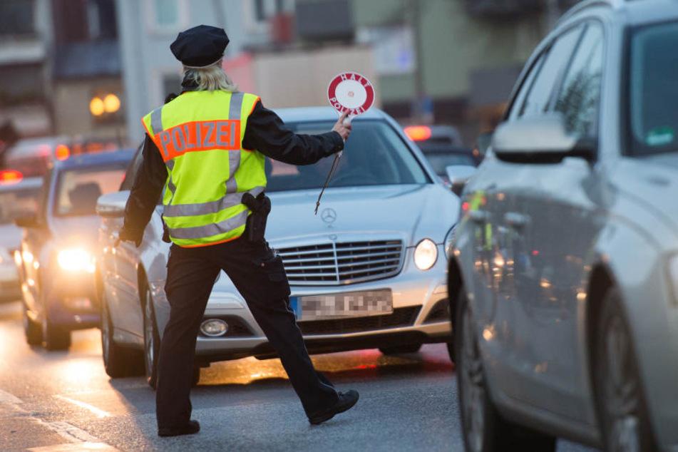 Die Beamten wollen Temposünder aus dem Verkehr ziehen.