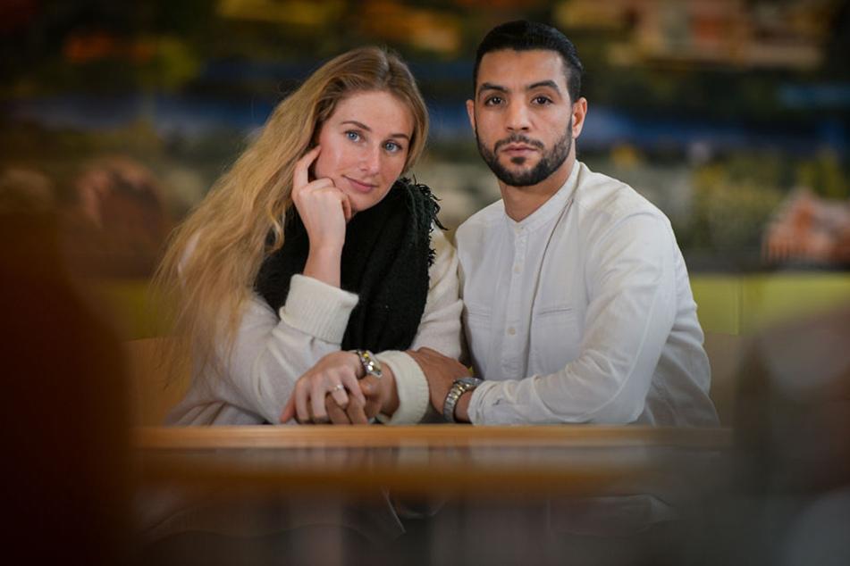 Bechir Arafet (29) und Lisa Ohrnberger (25) - die Liebe des Tunesiers und der Deutschen wird auf eine harte Probe gestellt.