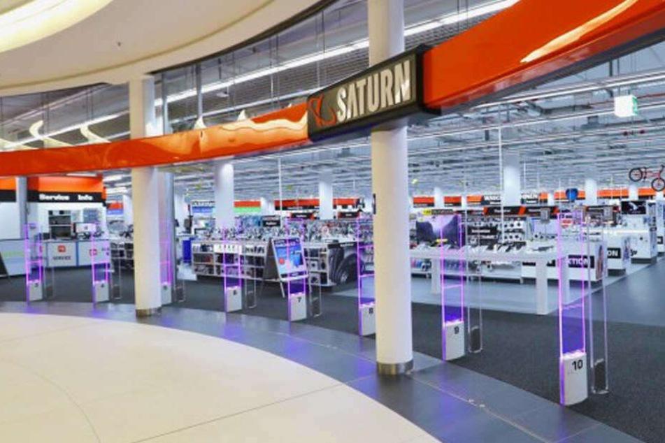 Für kurze Zeit verschenkt SATURN Chemnitz und Zwickau Technik an Kunden