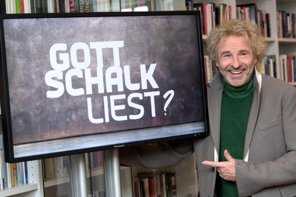 Gottschalk hatte eine Literatursendung im BR.