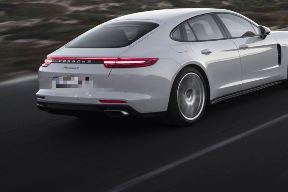 Auch ein Porsche Panamera wurde kontrolliert. (Symbolbild)
