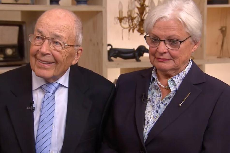 Mann Manfred (91) besuchte mit Frau Karin die ZDF-Show Bares für Rares.