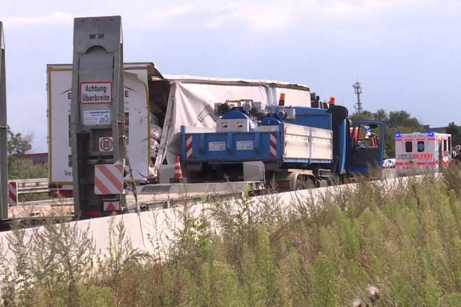 Ein Trucker-Fahrer reagierte schnell und brachte den Lkw zum Stehen.