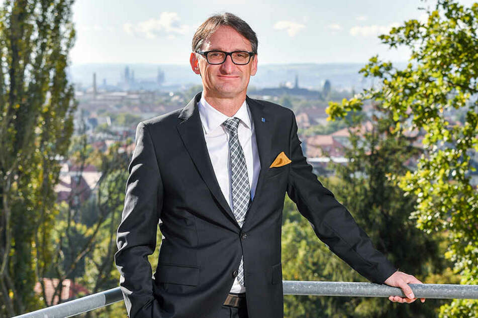 Axel Hüpkes, President des DEHOGA Sachsen.