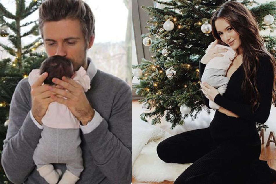 Darauf haben Fans lange gewartet! Jörn Schlönvoigt und Hanna Weig zeigen ihr Baby