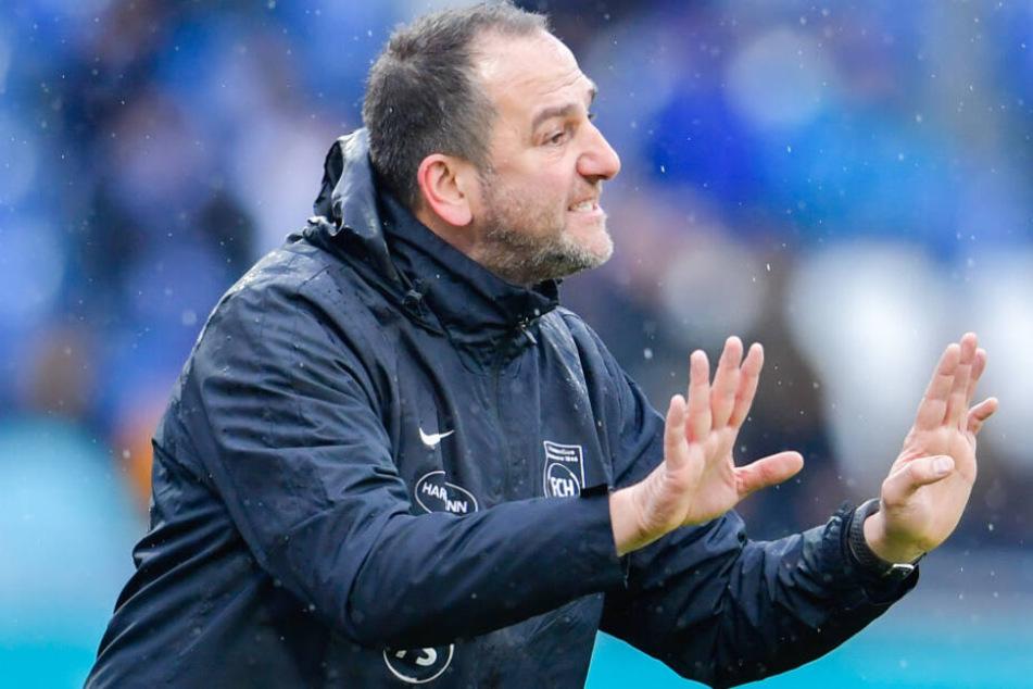 Heidenheim-Trainer Frank Schmidt reist mit viel Respekt nach München.