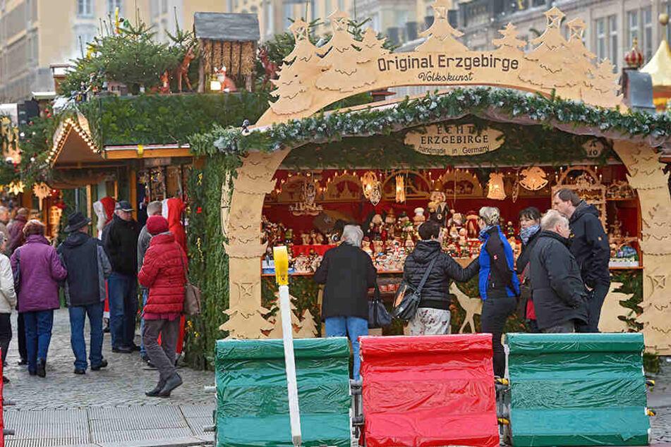 Insgesamt 160 Steine sind rund um den schönsten deutschen Weihnachtsmarkt gruppiert,