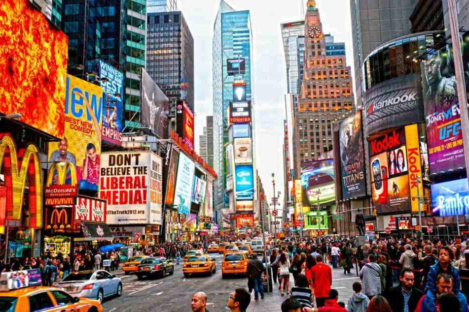 Der Times Square ist ein Besuchermagnet.