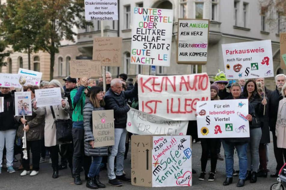 Bewohnerparken Waldstraßenviertel: 5 Jahre Planung, 730.000 Euro und ein kurzfristiger Rückzieher