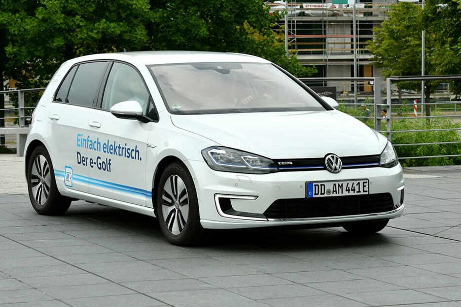 Allein bis Jahresende will VW 16.000 E-Golfs in Dresden produzieren.
