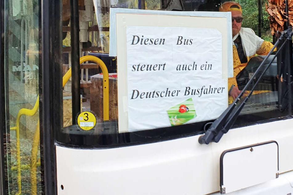 """In der Sächsischen Schweiz fährt weiterer """"deutscher Busfahrer""""!"""