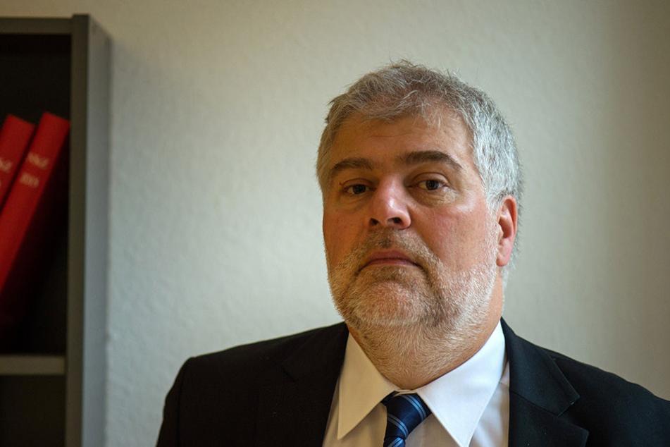 Der Dresdner Anwalt Alexander Hübner vertritt die syrische Familie.