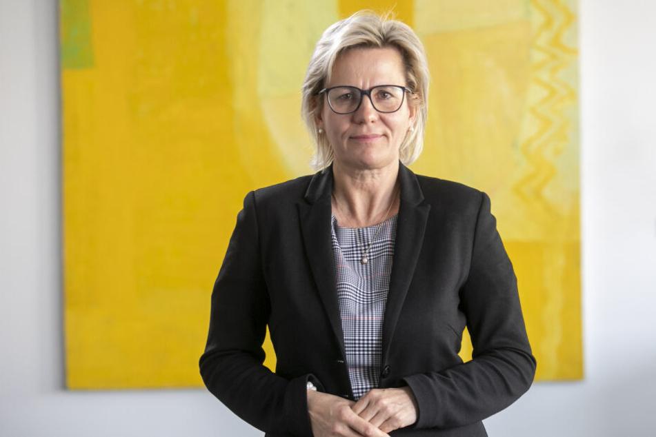 Besucht das Fest für Behinderte und Nichtbehinderte: Ministerin BarbaraKlepsch (53, CDU).