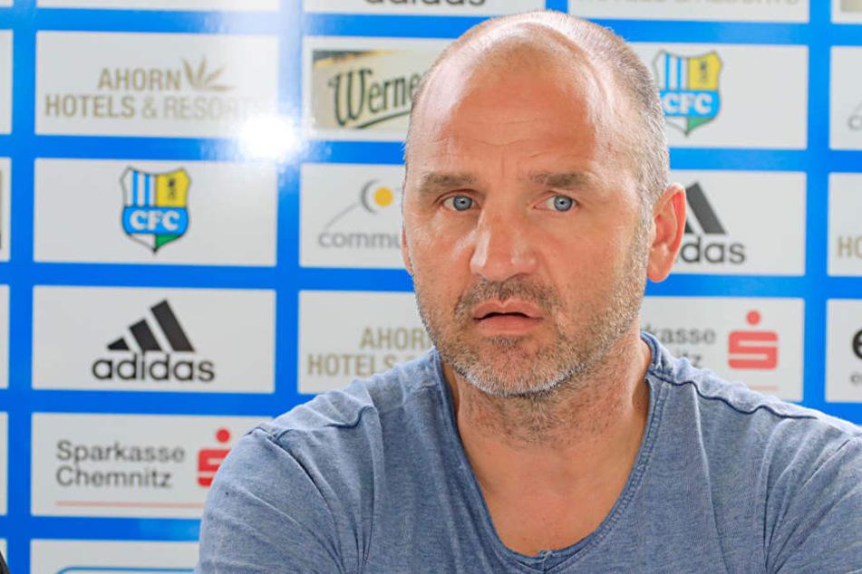 Sportvorstand Steffen Ziffert stieß mit seinem Vorschlag, den CFC im Winter für eine Woche im Spanien trainieren zu lassen, auf offene Ohren.