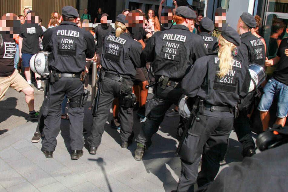 Die Lage am Breslauer Platz eskaliert.