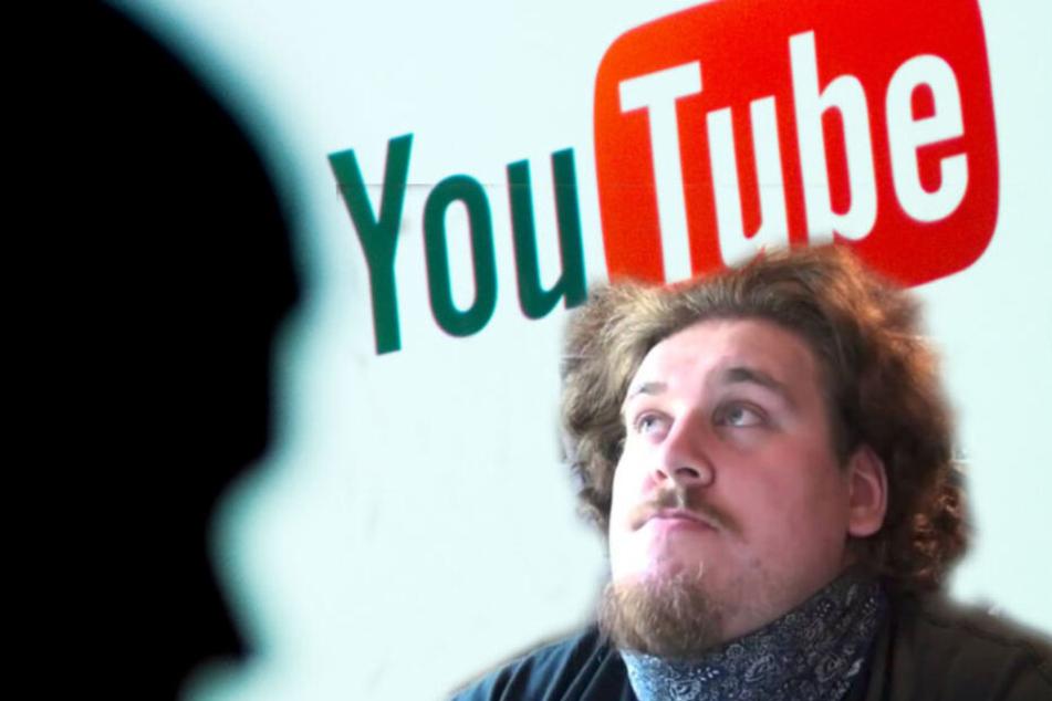 """Der Youtuber """"Drachenlord"""" wurde zu einer Bewährungsstrafe verurteilt. (Bildmontage)"""