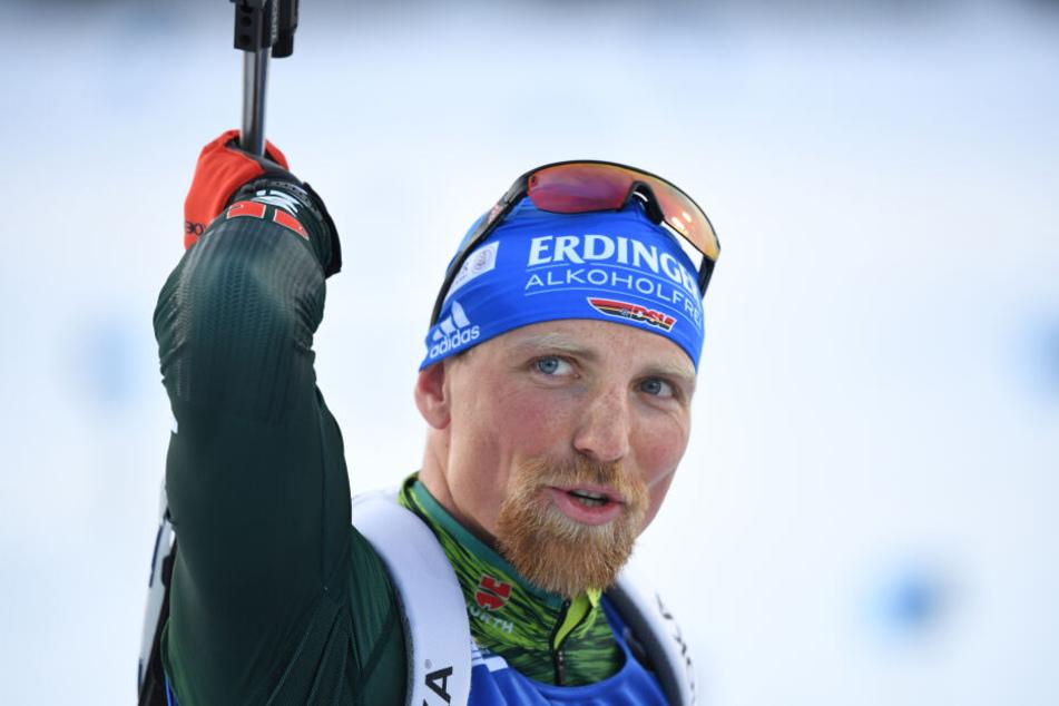 Erik Lesser bei einem seiner Wettkämpfe im vergangenen Jahr.