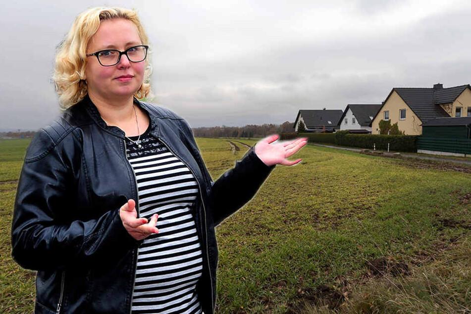 CDU-Stadträtin Solveig Kempe (37) will sich Für und Wider für das Gewerbegebiet Rabenstein Ost nochmals genauer ansehen.
