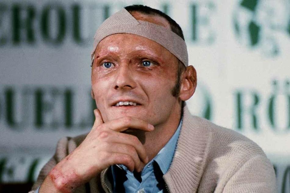 Legendär wurde Lauda durch den Horror-Unfall 1976 auf dem Nürburgring und seine Rückkehr nach nur 42 Tagen.