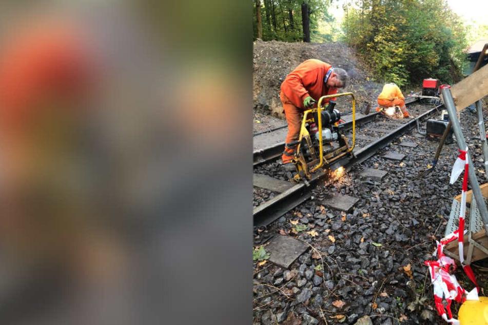 Arbeiten an Drahtseilbahn: Augustusburg im Zeitplan