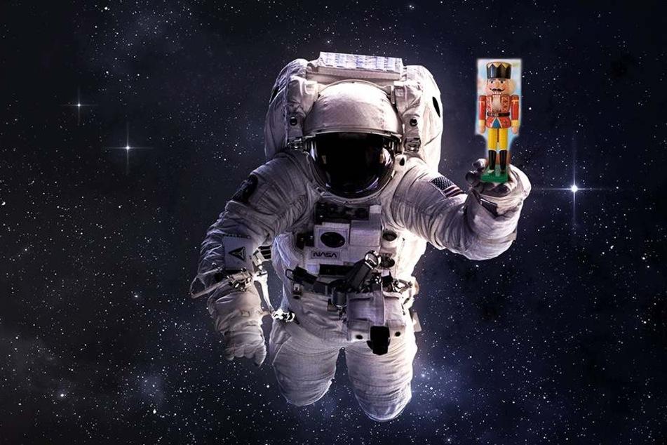 Nächstes Ziel des kleinen Nussknackers: der Weltraum.
