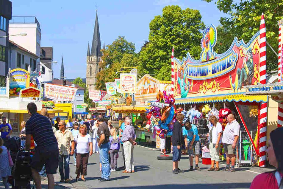 Stand-Gebühren von über 10.000 Euro sind keine Seltenheit auf dem Libori-Fest.
