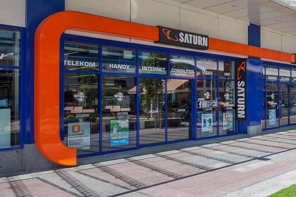 In Chemnitz und Zwickau wird bis Samstag Technik an Kunden verschenkt