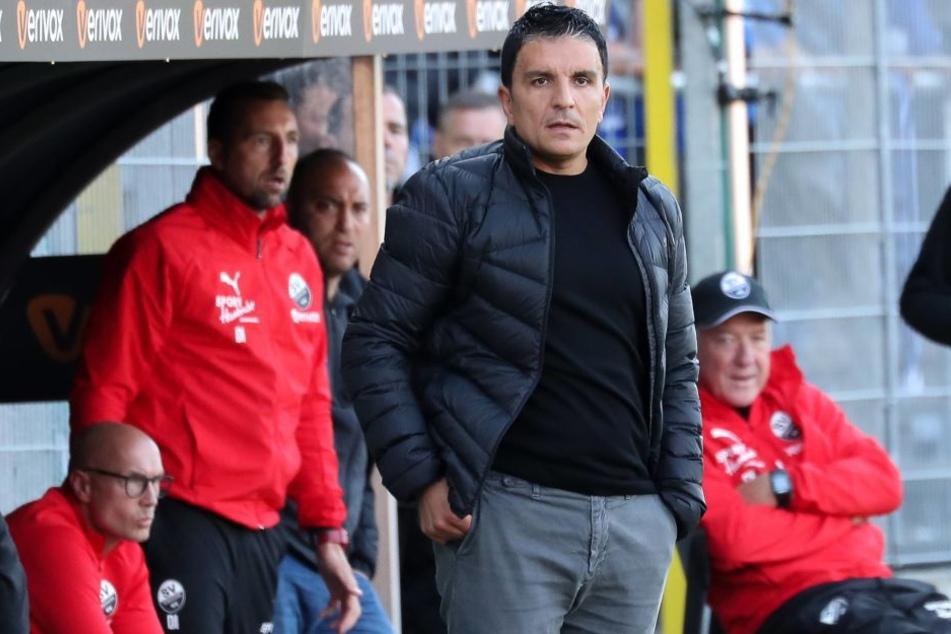 Kenan Kocak muss als Trainer vom SV Sandhausen gehen.