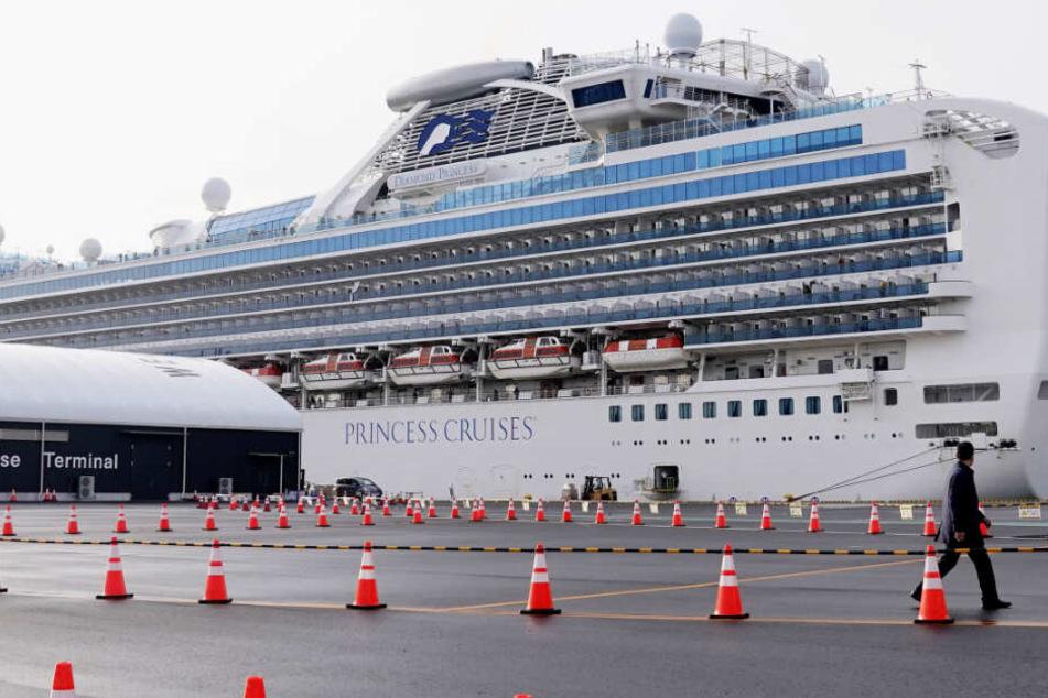 Coronavirus: Zwei Deutsche auf Kreuzfahrtschiff sind infiziert!