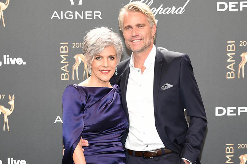 Stolz präsentierte Birgit Schrowange ihren neuen Freund Frank bei der Bambi-Verleihung.
