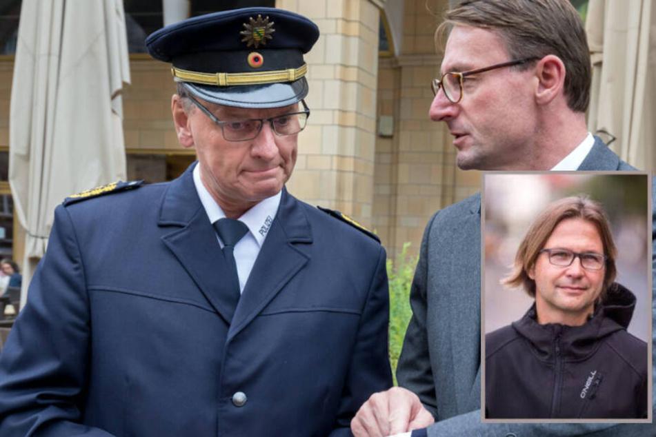 Und raus bist du... Innenminister feuert Polizei-Inspekteur