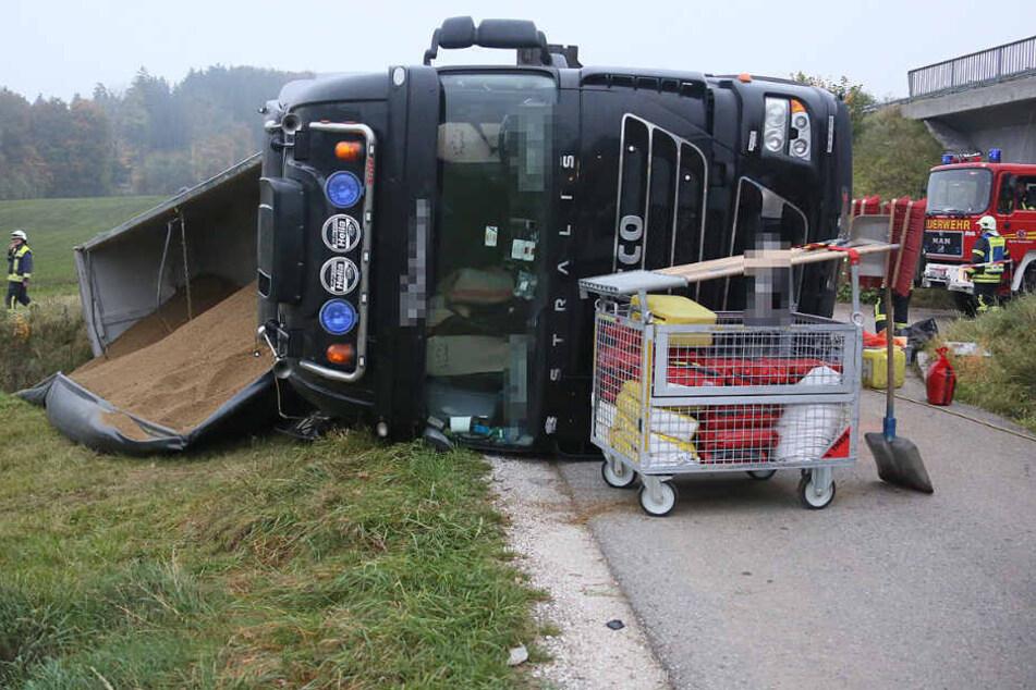 Brummi-Fahrer vertraut seinem Navi: Das hat fatale Folgen!