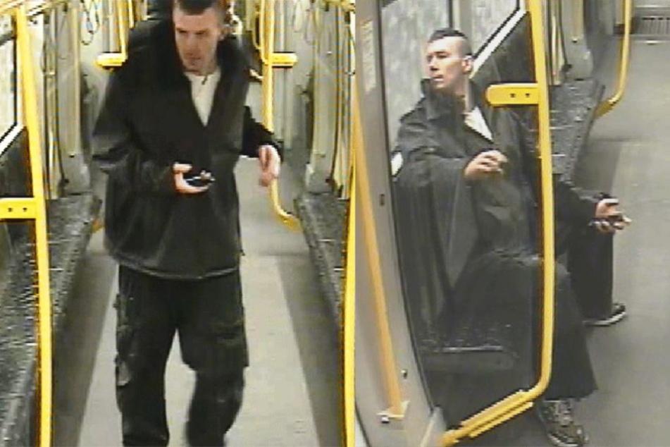 Wer kann Hinweise zu dem auf den Fotos zu sehenden Tatverdächtigen geben?