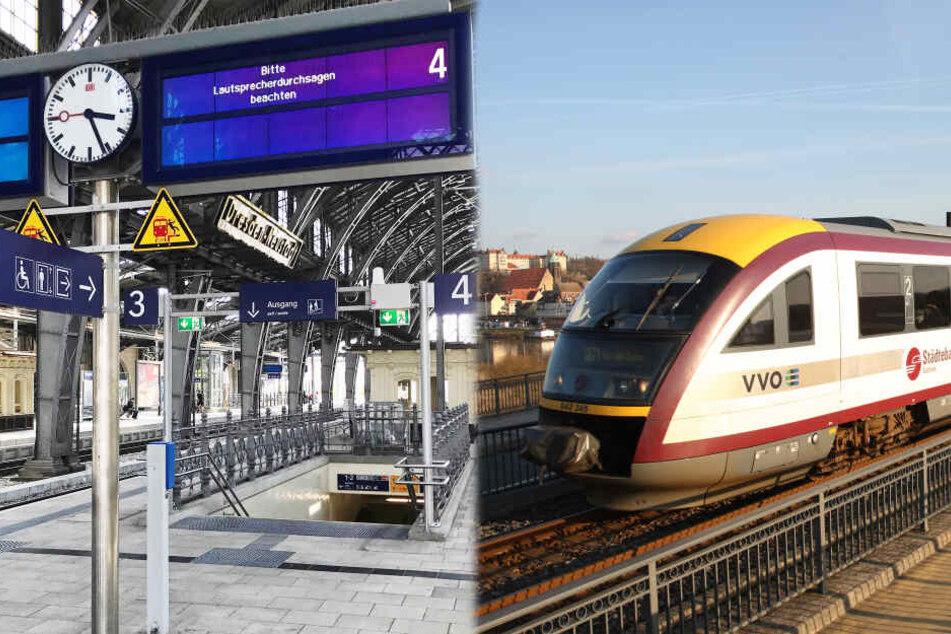 Bauarbeiten an Dresdner Brücken: Ab Montag Einschränkungen für Bahn-Fahrer