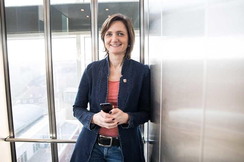 Simone Lange, Oberbürgermeisterin von Flensburg, wird auch als Parteivorsitzende auf dem Sonderparteitag kandidieren.