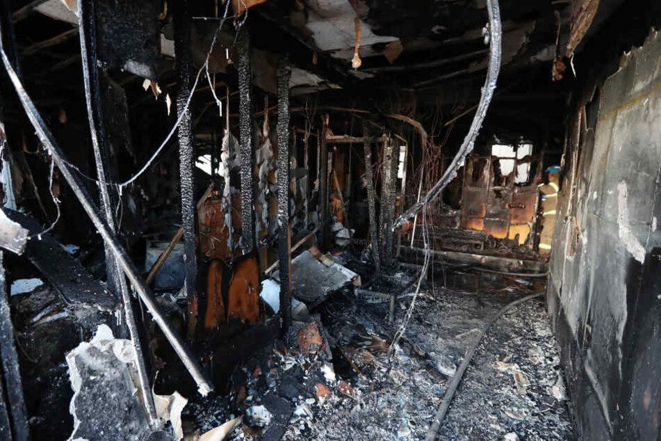 Das Feuer brach womöglich in der Notaufnahme aus.