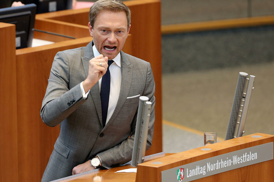 FDP-Bundesvorsitzender Christian Lindner schließt eine Ampel-Koalition aus. Er will einen Neuanfang.